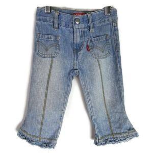 Levi's Ruffle Hem Jeans 2T